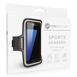 Caseflex Samsung Galaxy S7 Armband - Black (Retail Box)