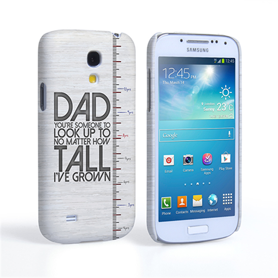 Caseflex Samsung Galaxy S4 Mini Dad Growing Up Quote Case/Cover